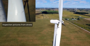 Self-Flying Drones and Wind Turbine Blades: The New Way of Collecting Data