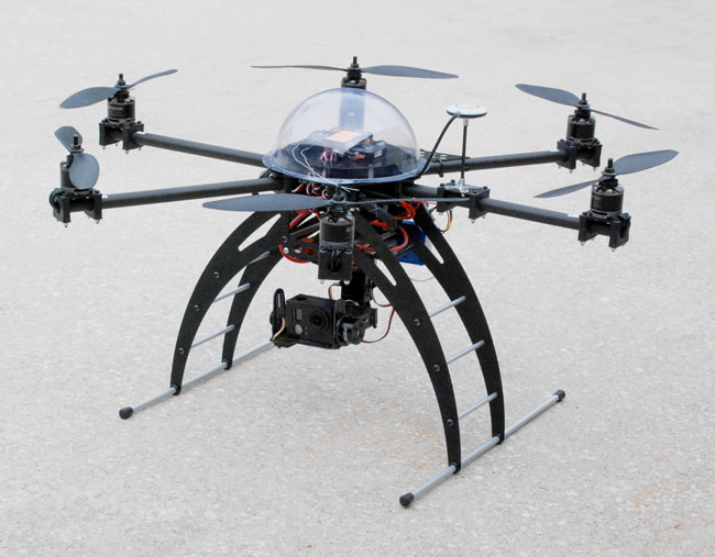 Outdoor Robotics-Hexacopter