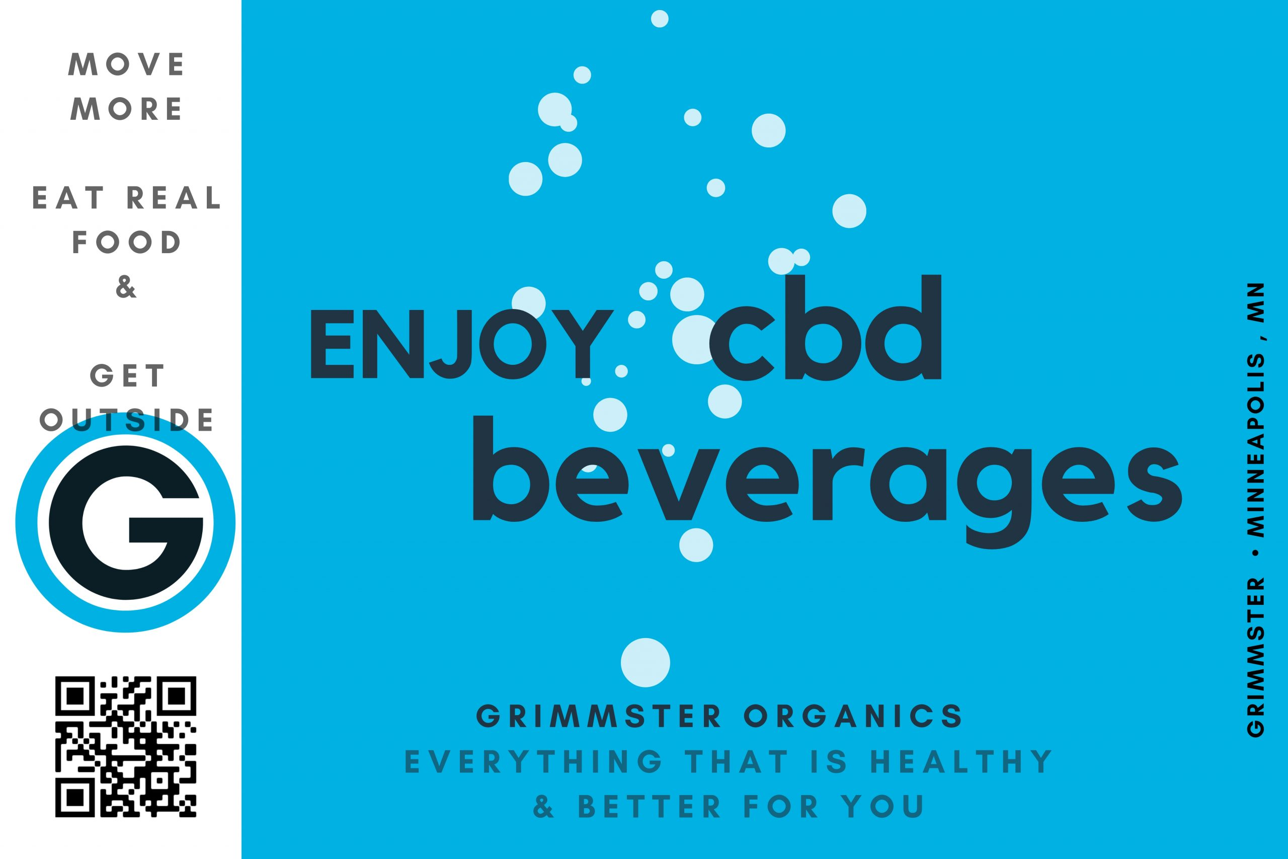 CBD beverages and CBD Oil - Grimmster Organics